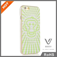 3D series fresh style cute and fancy transparent cell phone cases for iphone 6 /6s/6 plus