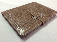 Stand Alligator PU Leather Crocodile Case For ipad Air for ipad air