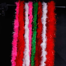 wholesale feathers boa christmas birthday wedding masquerade party supplies 50g