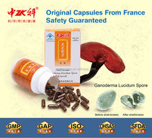 Health Care supplement for Lung and Kidney Ganoderma Lucidum Spore Mycelium Powder Capsule