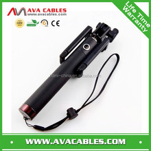 Extendable Wired Cable Control Self-Portrait Monopod with Remote Shutter for iPhone 6 6plus 5s 5c 5 4s 4, Samsung Galaxy S4, S2