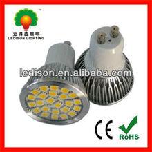 MR16 GU10 GU5.3 smd 5050 led Spotlight 5W