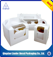 Wholesale white shipping cardboard gift box
