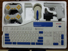 2015NEW!Educational TV keyboard video game console player for kids PAL NTSC SYTEM FOR CHILDREN