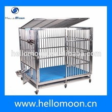Large High Quality Square Tube Steel Dog Cage