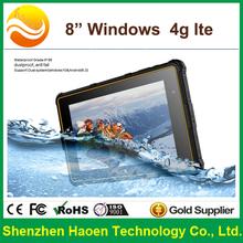 tablet 8inch windows barcoder 4g lte Fingerprint RFID Tablet Windows 10 new pad 2G Ram 32 G Rom 13MP Camera tablet