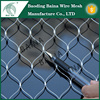 Flexible stainless steel wire rope mesh/security fence panels made in china