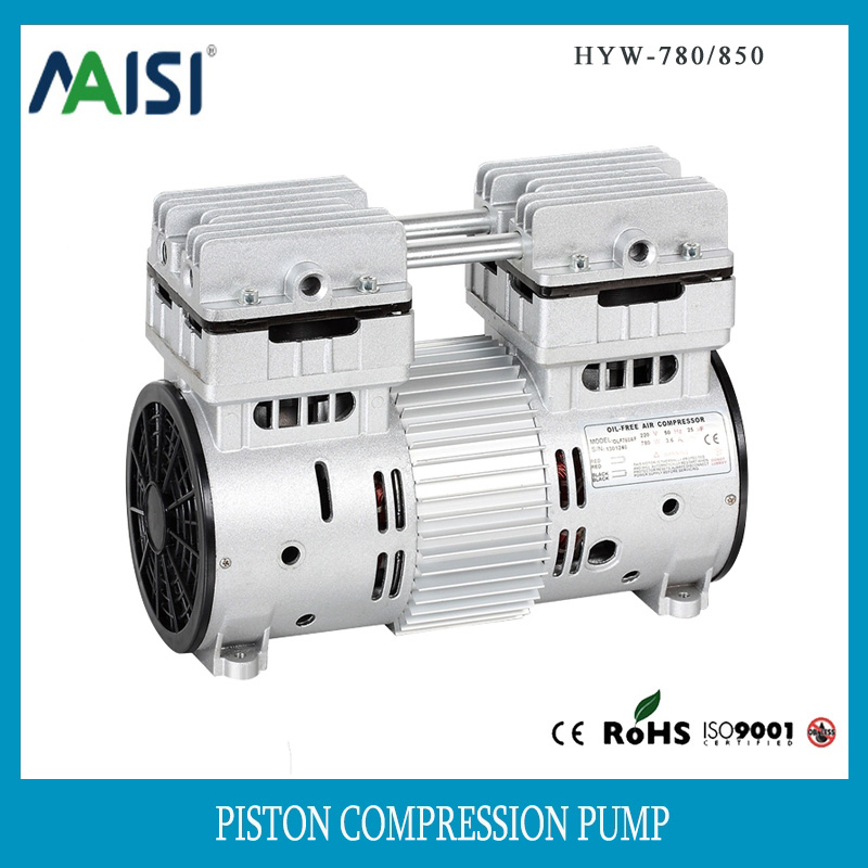 Electric 220v motor piston air pump 780w ac compressors pump chian supplier