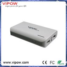 Guangzhou manufacturer power supply 5000mah power bank vipow v13