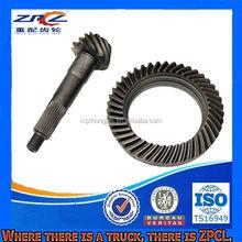 Certification ISO de rodage acier petite Spiral Bevel Gear