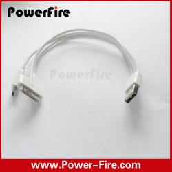 3 in 1 USB Universal Phone Charger Cable Factory OEM Micro USB 5pin + 8