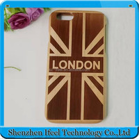 Artist Created Design & Glossy Surface wooden phone case for iphone 6