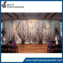TFR 2012 special offer Fashion Used Pipe And Drape For Wedding Party Show Events