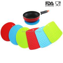 Non-Slip Magnetic Silicone Hot Pads, Silicone Rubber Anti-Slip Pad