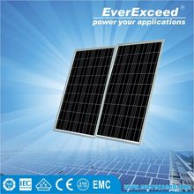 EverExceed 290w Polycrystalline Solar Panel certificated by TUV/VDE/CE/IEC