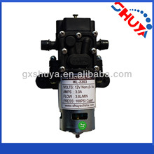 Electric sprayer part 12v 100 psi water pump