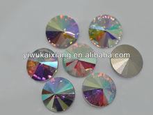Wholesale high quality crystal AB Rivoli 1122 glass stone