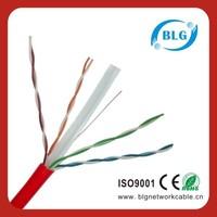 PVC/LSZH LAN Connection Line UTP Cat6 23AWG Cable