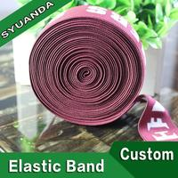 Printed Silicone Rubber Band/Silicone Printed Elastic