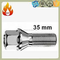 m6 barrel nut aloy wheel bolt 35mm for chavolet