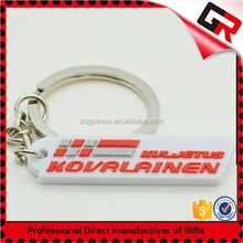 Super quality special heart shaped soft pvc keychains