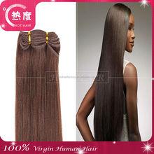 100% Unprocessed 7A Malaysian Silk Straight Virgin Hair Weaving Weft, Crochet Braids With Human Hair In Qingdao