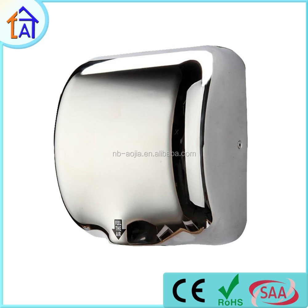 Automatic Jet Hand Blow Dryers Bathroom Air Dryer Wall