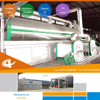 Profitable Jinpeng Pyrolysis Recycling Machine Considerable Cost of tire plastic plant