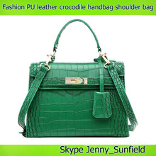 high quality cross body style shoulder bag 2015 fashion handbag crocodile