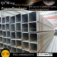 black cold rolled square steel pipe /erw welded square steel pipe