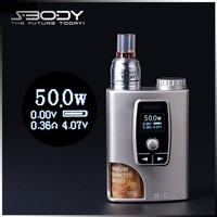 2015 sbody mod s-ca3 vaporizer box batteries rechargeable electronic cigarette