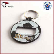 Promotional Items China Beer Bottle Football Opener Keychain