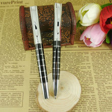 Square ink Pen Grid Pattern 31 gram Heavy Rollerball Pens for Promotion Office & School Supplier Writing Instrument