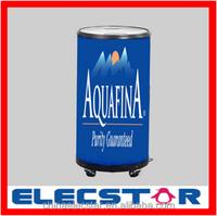 Electric barrel cooler/Can cooler/round cooler for display, 50L round barrel