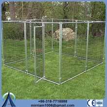Hot sale cheap Metal or galvanized comfortable 12x10x6 foot classic galvanized outdoor dog kennel