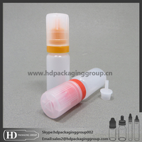 HD flat cap 1oz top quality clear ejuice e liquid bottles, vapor bottles for sale in China