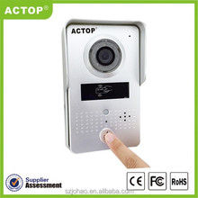 Shenzhen factory ACTOP support ID card unlocking Newest wifi IP door intercom system