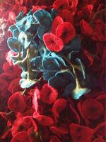 High Quality Handmade Wool Felt Decorative flower /Wool Flower/ Artificial Flower /Tulip