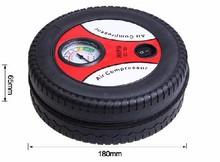 HF-1024(05) 2015 New arrival DC12V Mini car air compressor Car bike tyre inflator air pump Portable air compressor pump