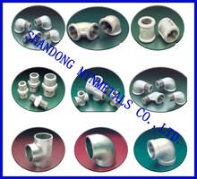 Japan standard galvanized Malleable cast Iron pipe and pipe Fittings