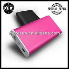 Mini portable battery with LED torch charger zune