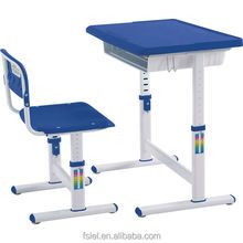 Adjustable Height Kids Study Desk and Chair Set for Student