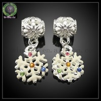 Large hole rhinestone crystal pave ball beads,loose crystal alloy beads 10mm for bracelet/earring