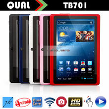 7 inch cheapest shenzhen tablet android 4.4 jelly bean a23 dual core q88 front 0.3MP rear 0.3MP 800*480 C