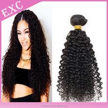 High quality afro curl virgin mongolian human hair,mongolian curly hair