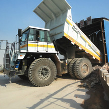 4x2 type gravel dump truck for sale