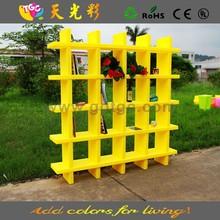 PE material multicolored plastic outdoor furniture plastic wine cabinet