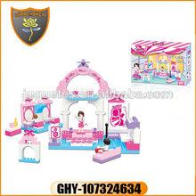 Bloque de construcción de ladrillos de construcción de juguetes
