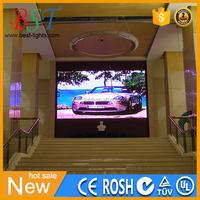 P6 indoor & outdoor LED screen with Nova Control system Meanwell power supply led display panel price