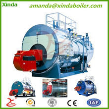 Low Pressure Horizontal Triple Pass Smoke Tube Diesel Steam Boiler for sale